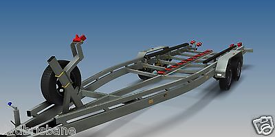 Trailer Plans - BOAT TRAILER PLAN - 7m (21ft) Mono-hull - PLANS ON CD-ROM 6