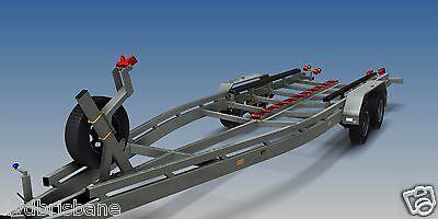 Trailer Plans - BOAT TRAILER PLANS - 7m(21ft) Monohull -PLANS ON USB Flash Drive 6