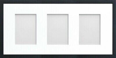 Frame Company Jellybean Black Wooden Multi Aperture Collage Photo frame & Mount 7