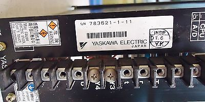 Yaskawa Electric Servopack M/n Cacr-Sr A5Ad1Kry111 200V Made In Japan S/n 783621