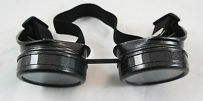 Antique Army Green Steampunk Acrylic Welding Goggles Cosplay Costume Gothic Set