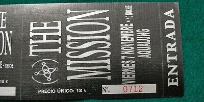 THE MISSION  UNUSED TICKET  Spain FREE SHIPPING WORLDWIDE WITH TRACKING 3