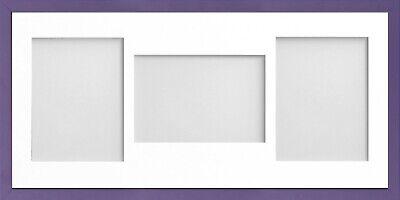 Frame Company Jellybean Dark Blue Wood Multi Aperture Collage Photo frame &Mount 6