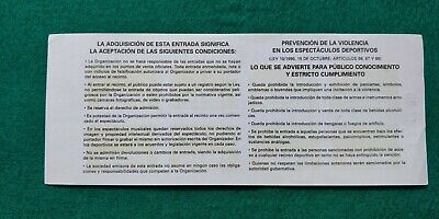 QUIET RIOT  UNUSED TICKET  Spain FREE SHIPPING WORLDWIDE WITH TRACKING 6