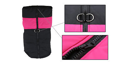 Large Dog Jacket Padded Waterproof Pet Clothes Warm Windbreaker Vest Coat Winter 5