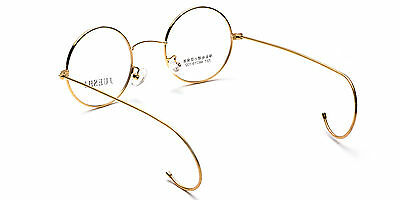 7ab8cd62618c ... Vintage Cable Temple Round Eyeglass Frames Spectacles Rx Retro Mens  Womens Kids 5