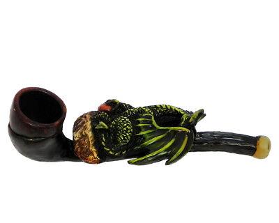Wizard Head Handmade Tobacco Smoking Mini Hand Pipe Magic Hat Medieval Fantasy