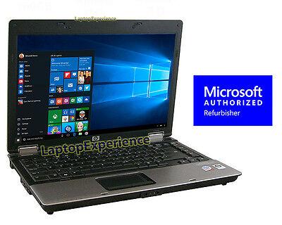 "Hp Laptop Notebook Pc Windows 10 Win Intel Core 2 Duo 4Gb 14.1"" Hd Dvd Computer 6"