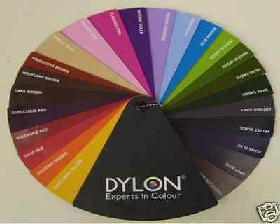 ORIGINAL DYLON FABRIC Dyes for Hand Use 50g Sachet ...