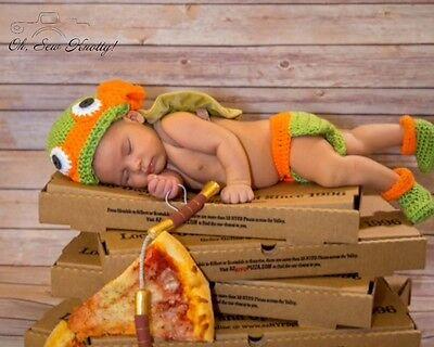 TMNT Michaelangelo-Inspired Infant Outfit