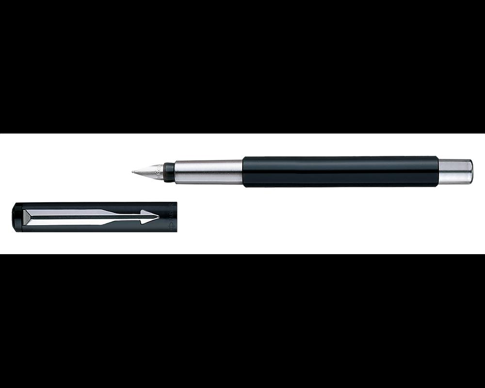 Details about  /Parker Vector Standard CT Fountain Pen Blue Body 1 Blue Free Cartridge 3 Black