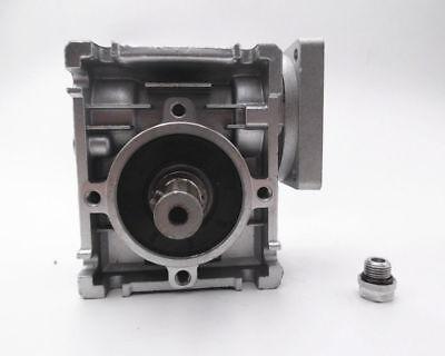 1PC NMRV-030 Worm Gear Speed Reducer NEMA23 Ratio 10 20 30 40 50 60 80:1 57*57mm 4