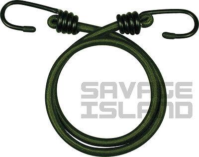 5pc Elasticated Bungee Shock Cords Military Army Basha Straps Hook Heavy Duty UK