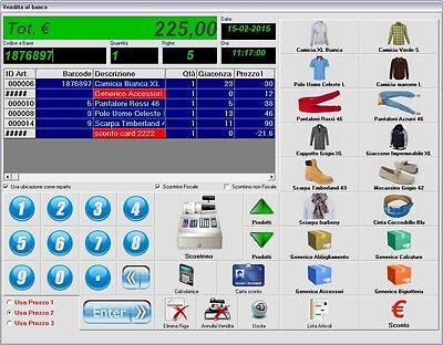 Lettore Di Codici A Barre Vendita Touch Screen Magazzino Programma Software Computers/tablets & Networking Drives, Storage & Blank Media
