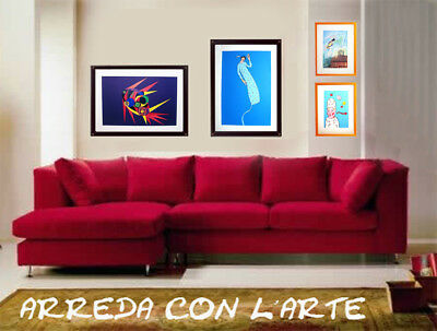"""MARINA LAINATI - """"Antonello""""  - Serigrafia cm 30x30 6"""