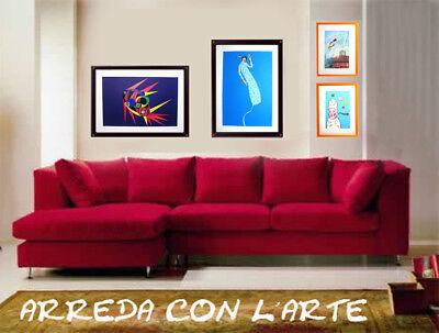 """MARINA LAINATI - """"Composizione""""  - Serigrafia cm 40x30 6"""
