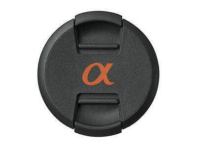ALC-55 Front Pinch lens cap cover for Sony Alpha lens with 55mm filter thread