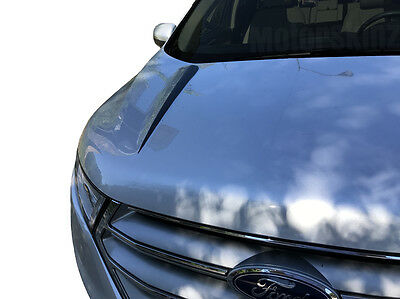 2015 2016 2017 Ford Mustang Vinyl Cowl Hood Stripe Spears Graphics GT Style 3