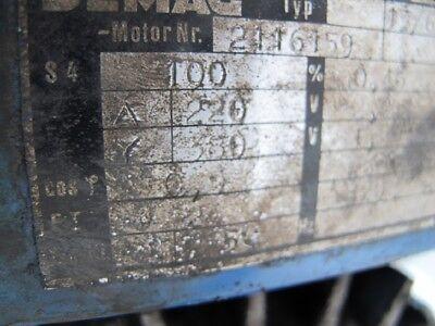 Demag Laufkatze Laufwagen Fahrwerk für Kranzug Kettenzug Kran Hallenkran #16369 6