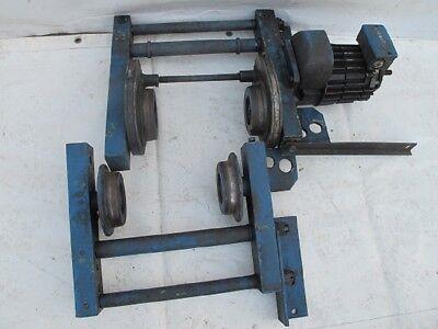 Demag Laufkatze Laufwagen Fahrwerk für Kranzug Kettenzug Kran Hallenkran #16369 2