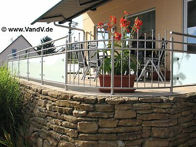 Edelstahl Balkon Gelander Tor Vordach Zaun Nach Mass V2a Gunstig