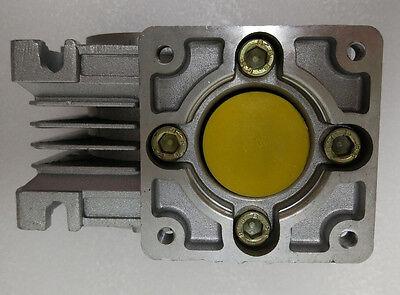 NMRV30 Worm gear reducer Reduction ratio 5:1 to 80:1 for NEMA23 stepper motor