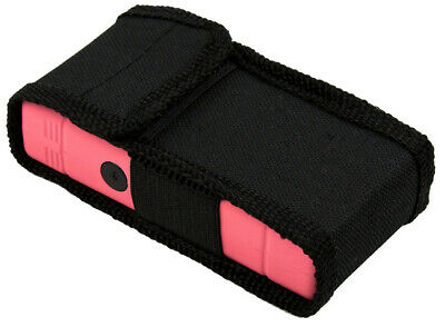 POLICE Stun Gun 800 Pink Mini Rechargeable LED Flashlight 8