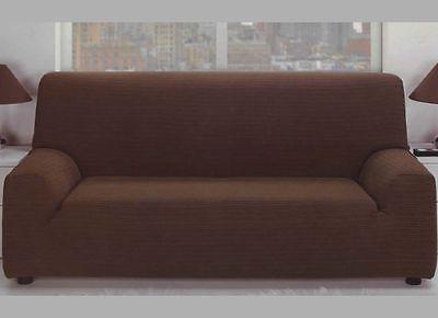 Funda Para Sofa Sillon 1 2 3 Plazas 10 Colores Diferentes Elastica