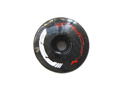 """Fahrrad Steuersatzkappe Full Carbon fiber 1 1//8/"""" Ahead  Carbon Top Cap"""