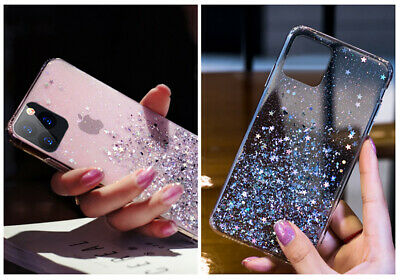 For iPhone 11 Pro XS Max XR X 8 7 Plus Glitter Shockproof Protective Case Cover 10