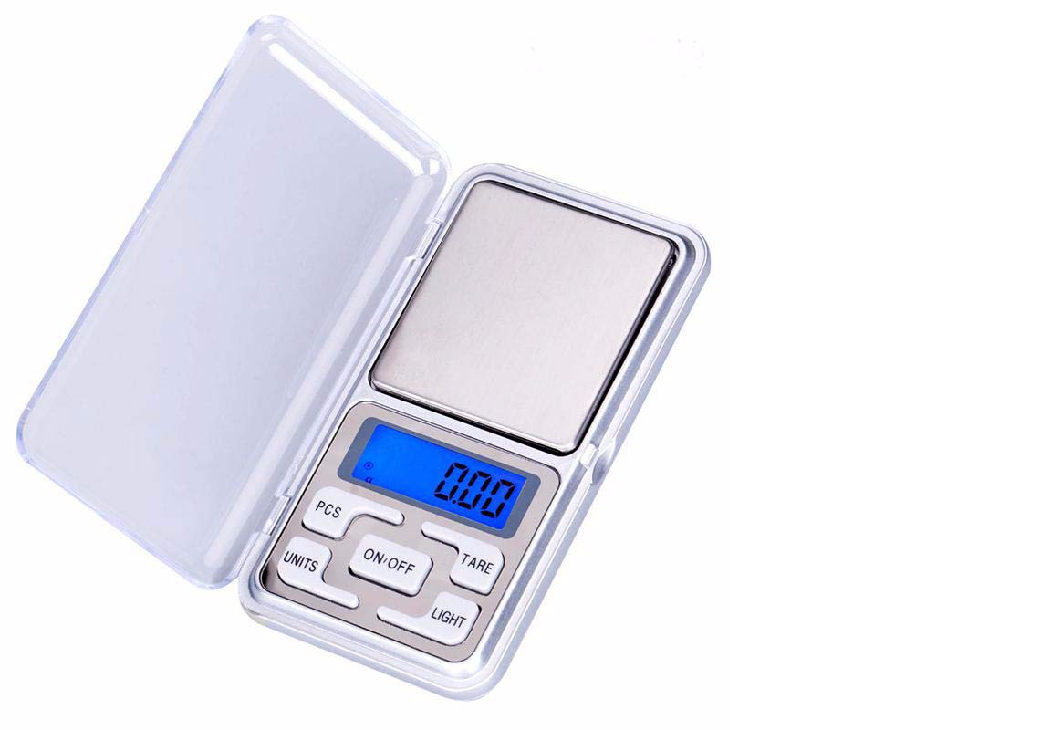 Weighing Scale Digital Pocket 500g/0.1g LCD Display Balance Scale Electronic 8
