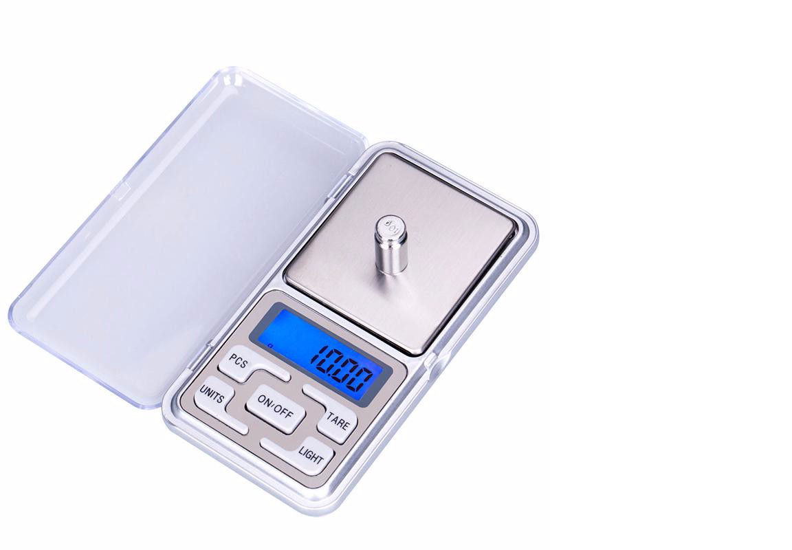 Weighing Scale Digital Pocket 500g/0.1g LCD Display Balance Scale Electronic 9