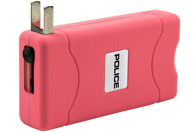 STUN GUN POLICE 800 Pink Mini Rechargeable LED Flashlight 6