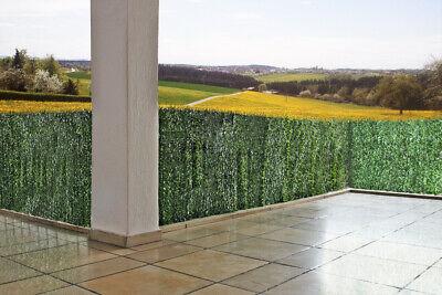 ZELSIUS Blickschutz Sichtschutz Tanne für Balkon Zaun Terrasse 3 m Größenauswahl
