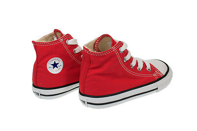 5ddc458631030c ... Converse Chuck Taylor Hi Top Red White Infant Toddler Boy Girl Shoes  All Sizes 6