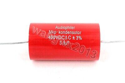 2pcs 400V 7.5uF MKP Crossover Membrane Polypropylene Non-Polarity Capacitor