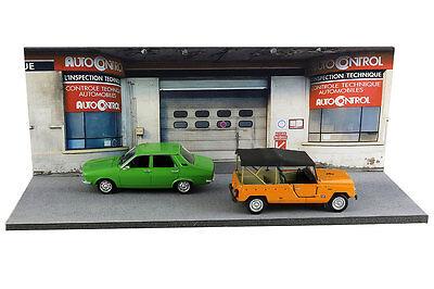 Diorama Garage contrôle technique - 1/43ème - #43-2-D-D-018 6