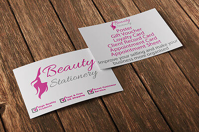 Gift Voucher Card Beauty Manicure Pedicure Nails Therapy Treatment - x10 +Env. 9