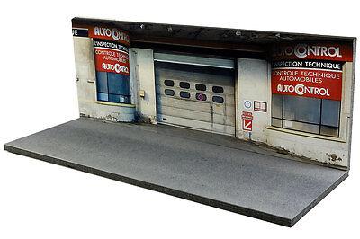 Diorama Garage contrôle technique - 1/43ème - #43-2-D-D-018 9