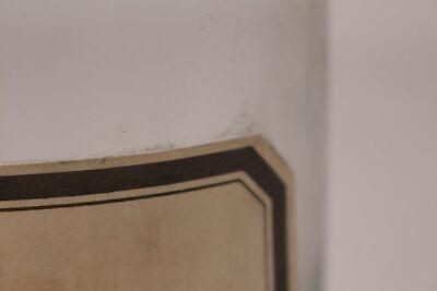 Apotheker Flasche Medizin Glas ol. Arachidis antik Deckelflasche Gefäß 20 cm 4