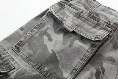 MENS FOXJEANS ELTON CAUSAL CAMO MILITARY MEN/'S ARMY CARGO WORK SHORTS SIZE 40