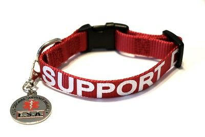 ALL ACCESS CANINE™ Service Dog Emotional Support Animal ESA Dog Collar and Tag 2
