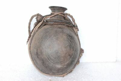 1900s Old Vintage Indian Antique Rare Clay Water Pot Collectible PE94