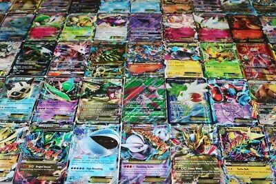 Pokemon Card Lot 100 OFFICIAL TCG Cards Ultra Rare Included - GX EX MEGA + HOLO 4