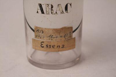 Apotheker Flasche Glas Arac Cytarabin antik Deckelflasche Gefäß 14 cm Medizin 3