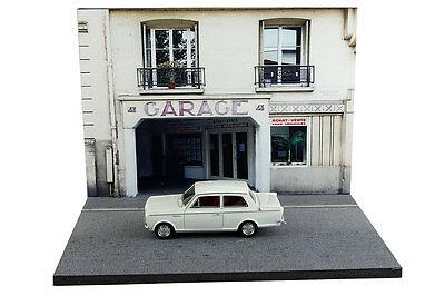Diorama Garage parisien / Parisian garage - 1/43ème - #43-2-B-B-017 4