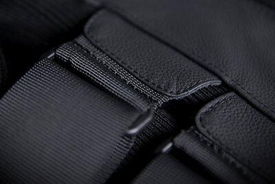 ICON Regulator D3O Leather Motorcycle Vest Black Choose Size