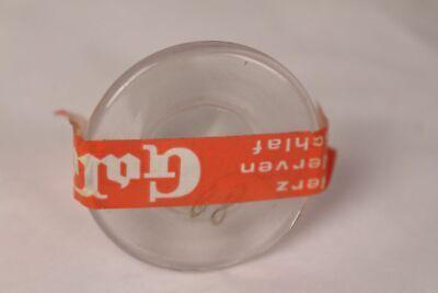 Apotheker Flasche Medizin Glas Acidum lacticum antik Deckelflasche Email 7