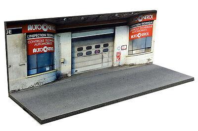 Diorama Garage contrôle technique - 1/43ème - #43-2-D-D-018 8