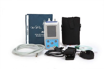 24Hrs Ambulatory ARM Blood Pressure Monitor PC Software,Adult cuff,US Seller 6